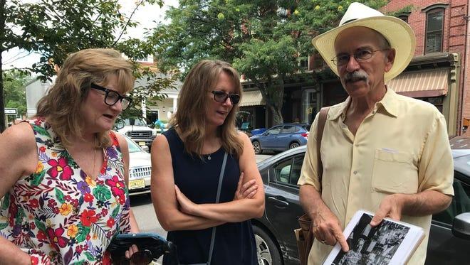 The downtown tour on Frenchtown Walking Tours.