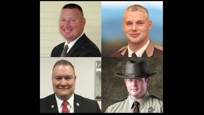 Augusta County sheriff candidates include Neil Kester, Donald Smith, Derek Almarode, Todd Lloyd.