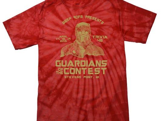 Trivia tie-dye T-shirt