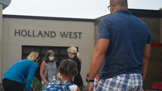Holland Public Schools reported three active cases of COVID-19 in the district Friday, Nov. 6.