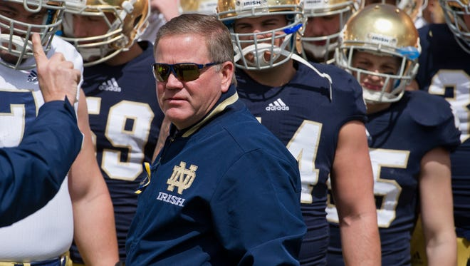Brian Kelly and Notre Dame prepare for another run at the national championship.