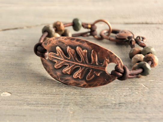 Jewelry by Debby Hess will be on display Sept. 9 in