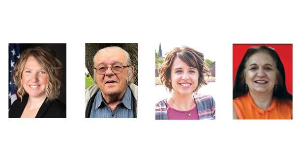 Christina Andres, Charles Forster, Crystal Uys, Rajeana Wick