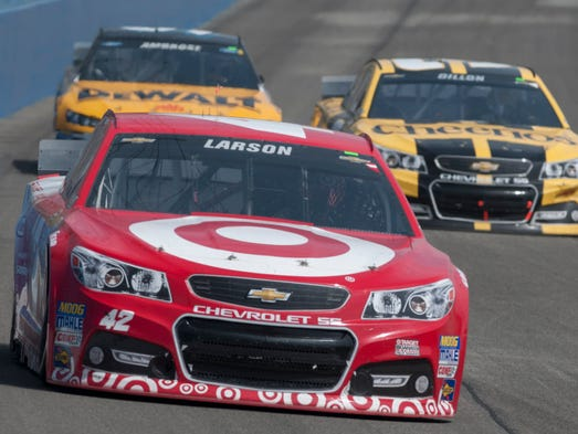 12 questions with kyle larson for Larson motors used cars