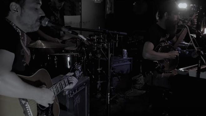 Suffering, Praying Hands performs at Spacebar in a video from Daily Grind Productions.