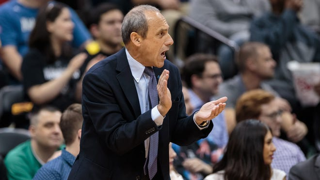 San Antonio Spurs head assistant coach Ettore Messina is one of the people the Los Angeles Lakers are talking to for their coaching position.