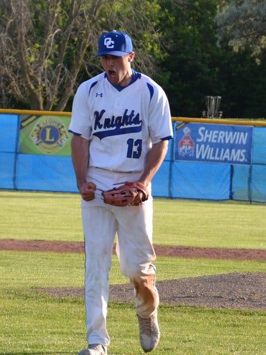 Oak Creek's Alex Binelas was named All-Suburban Player