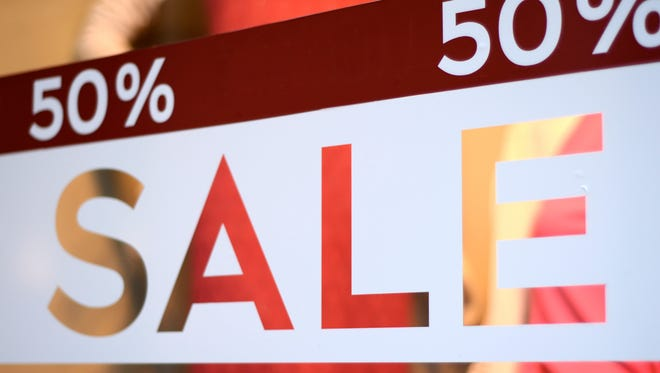 Stock photo of a sale sign.