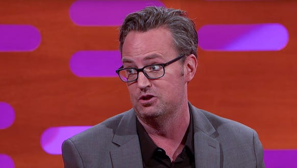 Matthew Perry: Still freaked out by Michael Flatley,