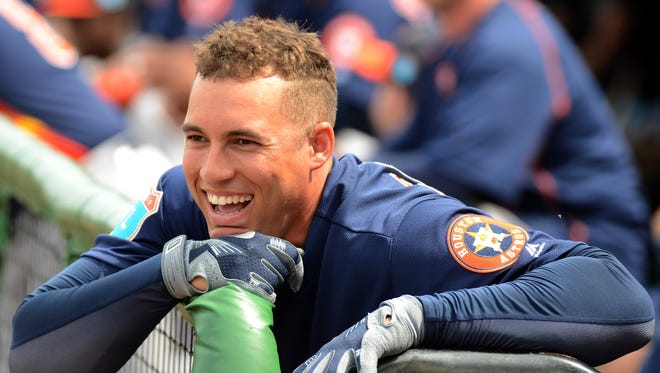George Springer is one of the key young players on the Astros.