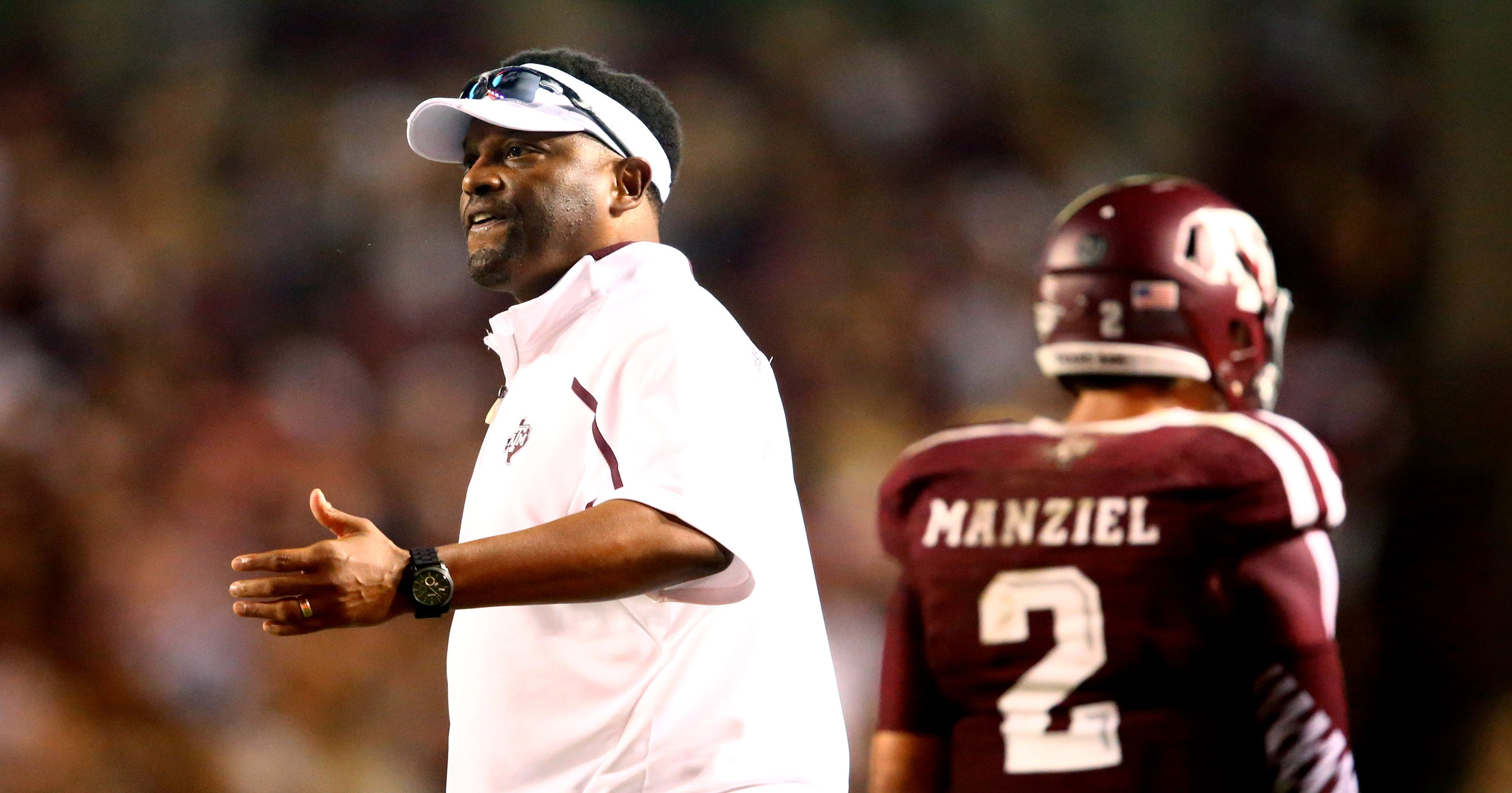 Kevin Sumlin clarifies comments on Johnny Manziel s NFL draft decision 3f2f77884
