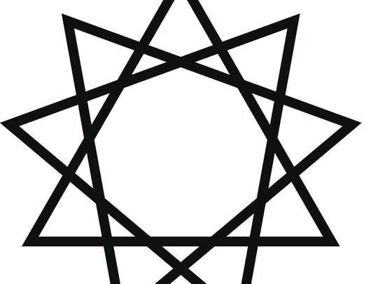 bahai vector star symbol