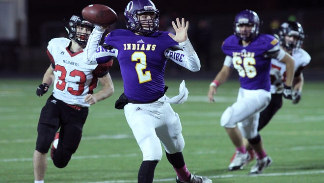 Indianola and quarterback Jack Jensen play Marshalltown on Friday in a winner-take-all game for the fourth and final playoff spot out of Class 4A District 4.