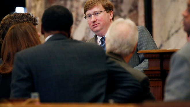 Miss. Lt. Gov. Tate Reeves is seen in this file photo.