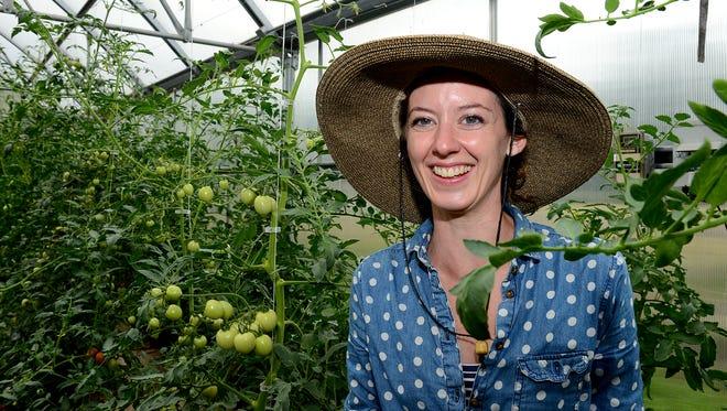 Rita O'Brien, Hunter Park GardenHouse director, at the GardenHouse Aug. 11, 2016.