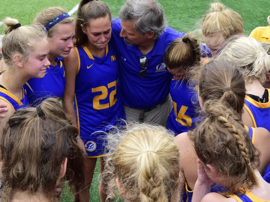 Geoff Blankenship/For The Enquirer Mariemont coach