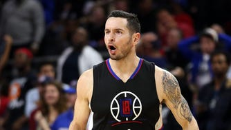 "J.J. Redick said he was ""tongue tied"" in a video where he appeared to use a racial slur."
