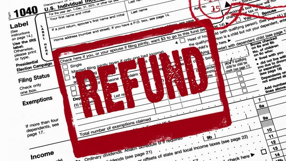 The IRS says it will issue most refunds within 21 days.