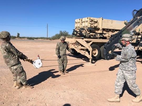 Soldiers from Bulldawg Battery, 5th Battalion, 52nd