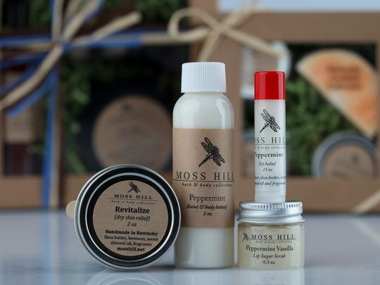 Moss Hill Bath and Beauty products come in yummy fragrances for both women and men.
