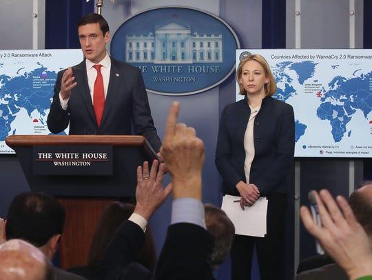 Tom Bossert, White House homeland security advisor,