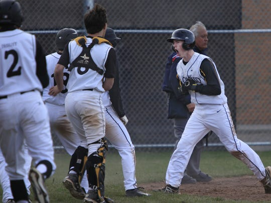 While at McQuaid, Greg Cullen helped lead the Knights
