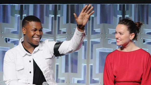 John Boyega was alive and well with 'The Last Jedi'