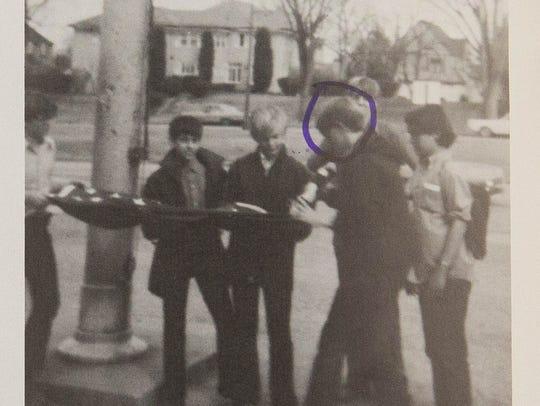 Walt Rubel High School Color Guard