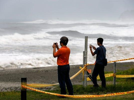 EPA TAIWAN TYPHOON NEPARTAK WEA WARNINGS TWN