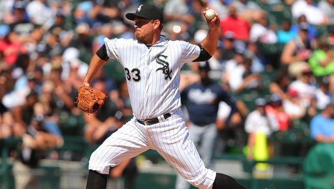 Zach Duke went 2-0 with a 2.63 ERA for the White Sox this year.