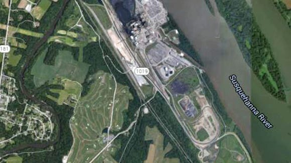 Eib's Landing site today as shown in Google Earth view