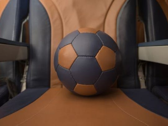 What happens when an airline is done with its leather seats? At Southwest, they're donated to be turned into soccer balls and other goods.