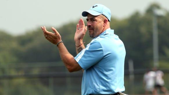 Parsippany Hills coach Dave Albano