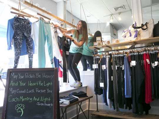 Alison Keating, owner of Barefoot Athleisure Boutique in Spring Lake.