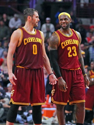 Will the presence of LeBron James persuade Kevin Love to stay in Cleveland?