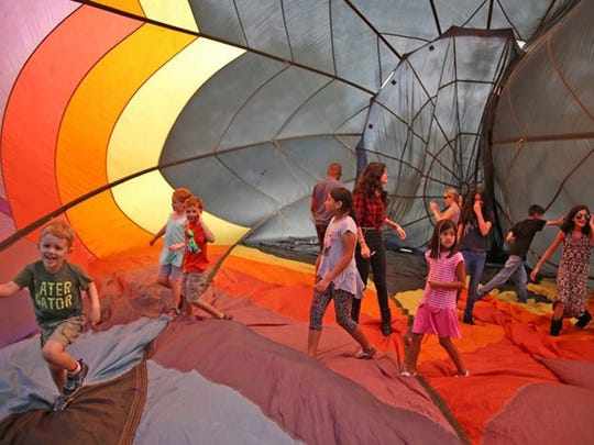 The Montgomery FunFest on Sept. 10 at Princeton Airport will include a walkabout balloon for families to enjoy together.