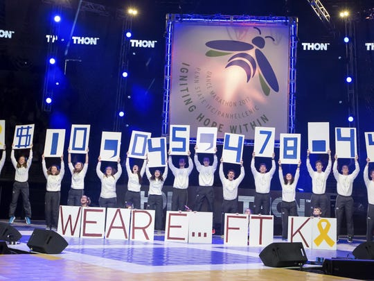 Penn State's Thon, day 3
