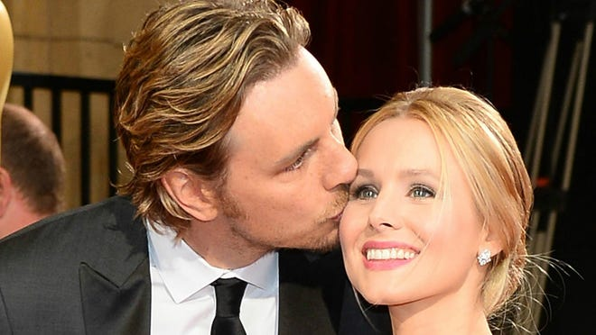 Actors Dax Shepard and Kristen Bell attend the Oscars held at Hollywood & Highland Center on March 2, 2014