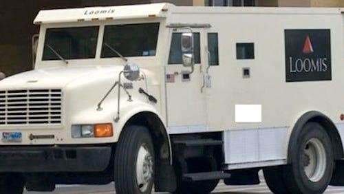 Loomis truck