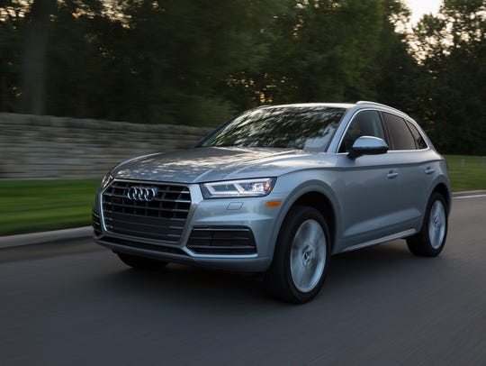 This undated photo provided by Audi shows the 2018 Audi Q5, a luxury compact SUV.