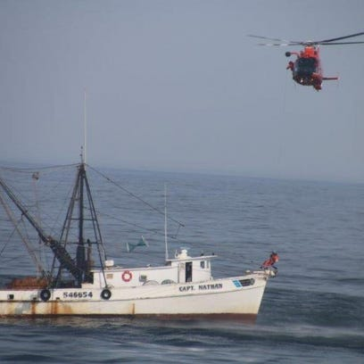 A mariner was rescued from a vessel off the Chincoteague