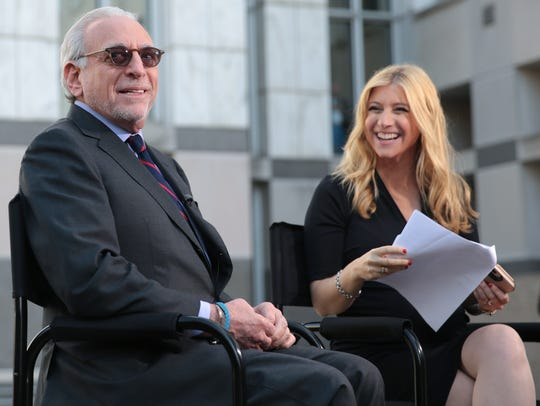 Trian Partners CEO Nelson Peltz prepares for an interview