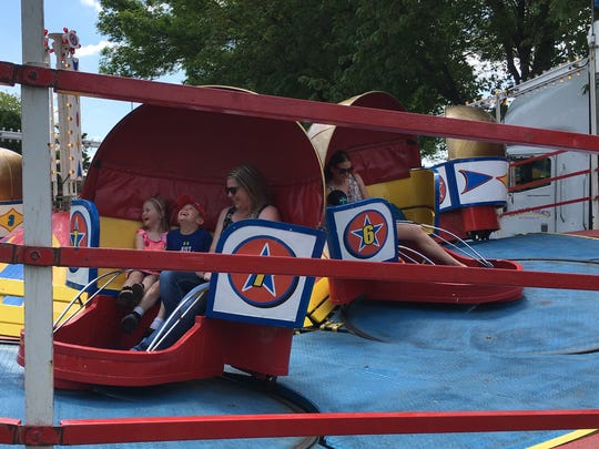 Celebrate De Pere begins Friday night, with rides, games, contests and music over the Memorial Day weekend. This year it will be at the Brown County Fairgrounds on the west side of De Pere.