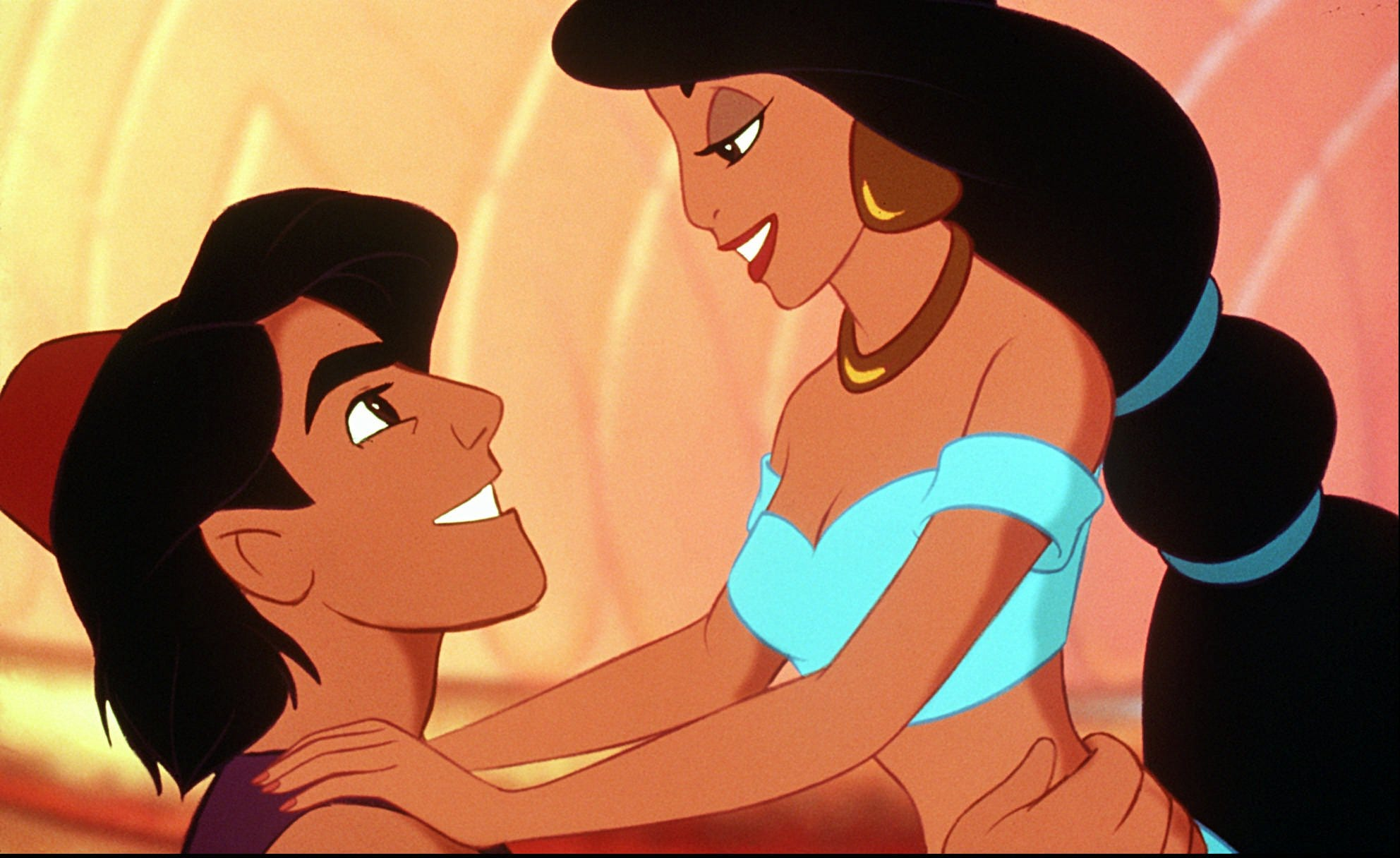 Princess jasmine with short hair