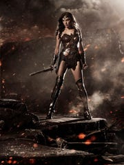Gal Gadot as Wonder Woman in 'Batman v Superman: Dawn