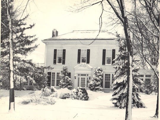 The Gregory mansion, 903 W. Grand River Avenue, Howell,