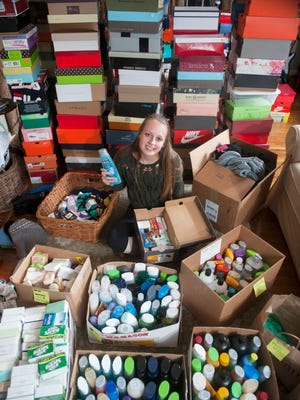 Emily DeHart, a junior at Cherry Hill High School East, created Shoeboxes for the Homeless, a project in which community members donate money, along with shoeboxes, snacks, toiletries and winter essentials such as gloves, hats and scarves, which are packaged in shoeboxes and donated to the homeless of Camden. 11.18.15