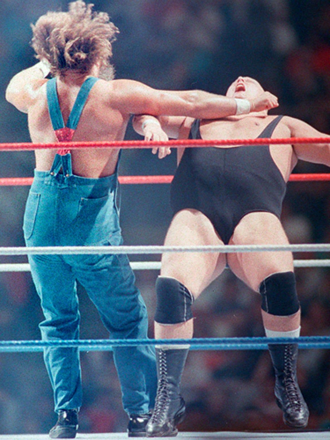Christopher Pallies, AKA professional wrestler King