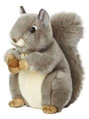 The stuffed animal to be hidden throughout Walnut Street