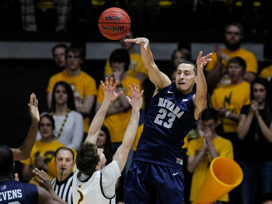 NCAA Basketball: Nevada at Wyoming